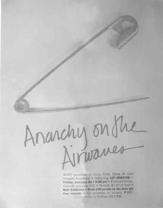 Anarchy On The Airwaves Poster