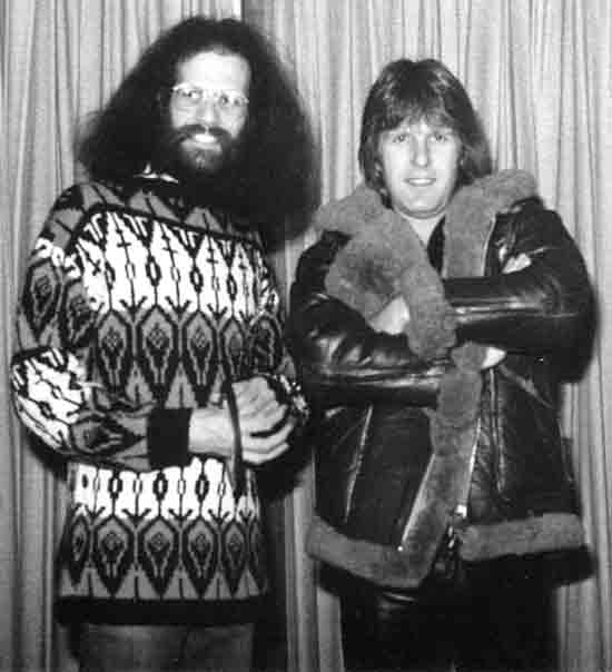 Gary Storm and Keith Emerson of Emerson, Lake and Palmer